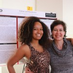Lucy De Souza and Dr. Rodriguez Mosquera (Wesleyan Psychology Research Symposium, Spring 2016)